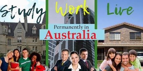 Australia Study Work & Live permanently tickets