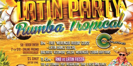 LATIN PARTY NELSON - Rumba Tropical [Nov]