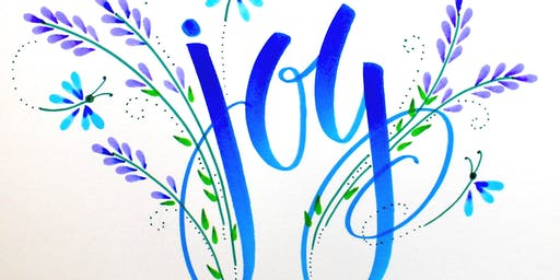 Tombow Half-Day Lettering Workshop with Marie Browning (Tombow USA)