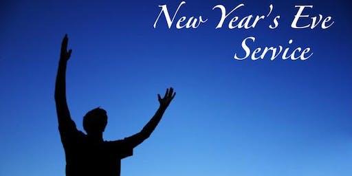 New Years Eve  Midnight  Watch Night