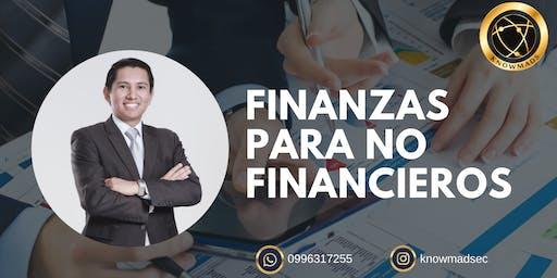 Finanzas para no financieros Quito