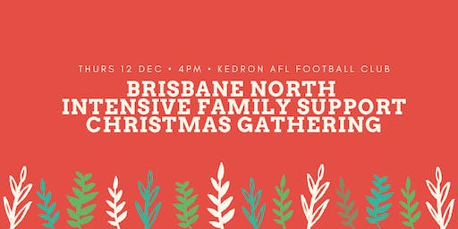 Brisbane North Intensive Family Support Christmas Gathering