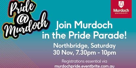Pride @ Murdoch parade entry tickets