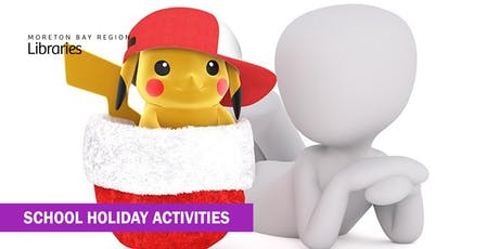 Pokémon Christmas Party (6-12 years) - Caboolture Library tickets