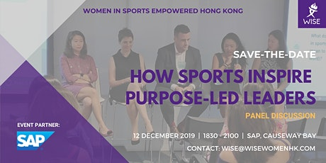 How Sports Inspire Purpose-Led Leaders tickets