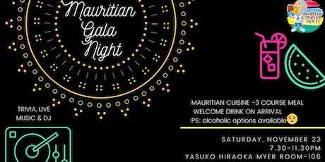Mauritian Gala Night tickets