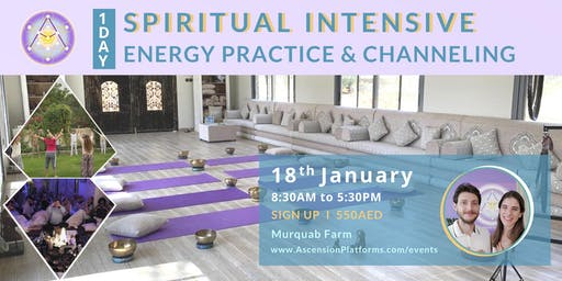 One Day Spiritual Intensive  -  Energy Practice & Channeling