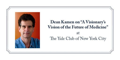 "Dean Kamen on ""A Visionary's Vision of the Future of Medicine"""