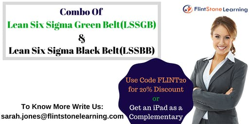 Combo of LSSGB & LSSBB Certification Training Course in Sacramento, CA