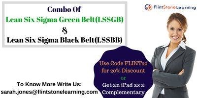 Combo of LSSGB & LSSBB Certification Training Course in Des Moines, IA