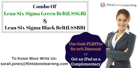 Combo of LSSGB & LSSBB Certification Training Course in New Orleans, LA tickets