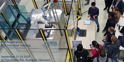 Pre-Registration for ROS-Industrial Training Sept 2020 (no ticket sale yet)