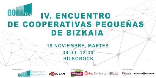 IV. Encuentro de Cooperativas Pequeñas de Bizkaia.