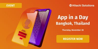 App in a day Workshop - Bangkok