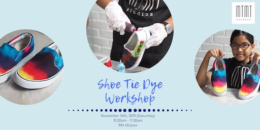 Signature Shoe Tie Dye Workshop