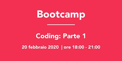 Bootcamp: Coding Parte 1
