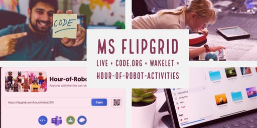 MS FlipGrid + code.org Hour-of-Robot