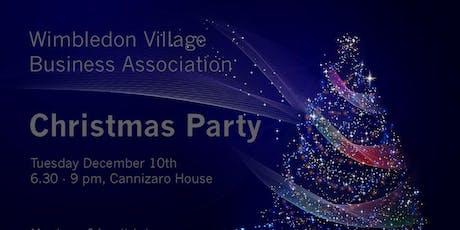 WVBA Christmas Party tickets