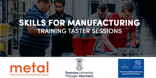 Skills for Manufacturing - Training Taster Sessions