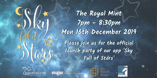 'Sky Full of Stars' app launch party
