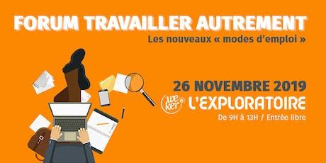 Forum des nouvelles formes d'emploi / Rennes billets