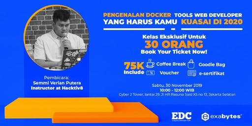 Pengenalan Docker, Tools Web Developer yg Harus Kamu Kuasai di 2020 (Paid)