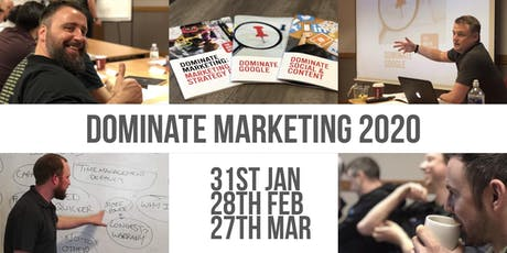 The Boiler Business - Dominate Marketing Programme #3 January 2020 tickets