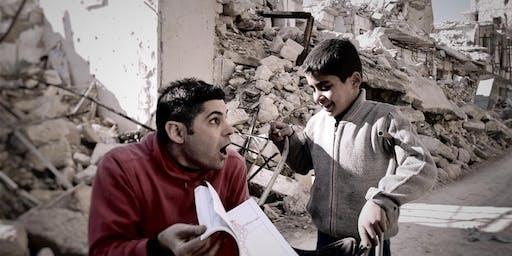 """""""LA GUERRA IN UN SORRISO""""  Cena solidale con proiezione video"""
