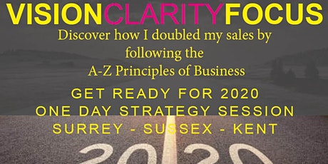 Get 20:20 Vision to Double Your Sales in the next 12 Months tickets