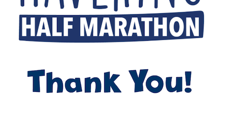 Havering Half Marathon Thank You Celebration tickets
