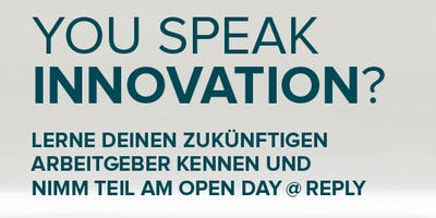 Open Day @ Reply Hamburg