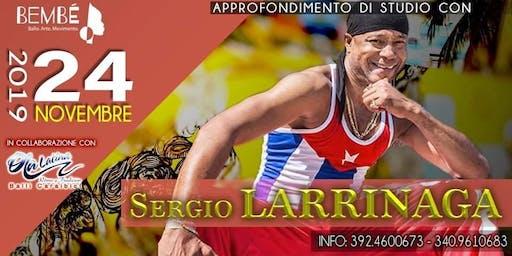 Sergio Larrinaga On Stage - Open Class