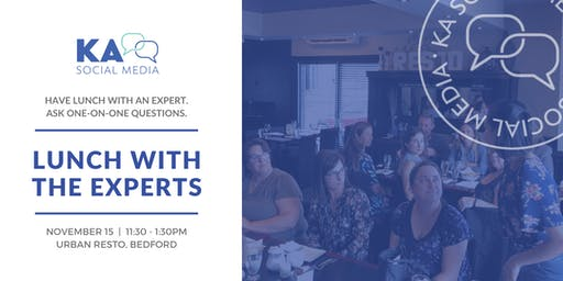 Lunch with the Experts- An event by KA Social Media