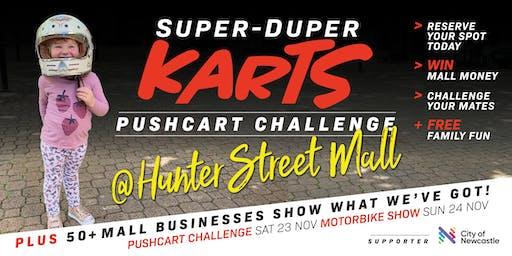 Super-duper Karts ~ Pushcart Challenge
