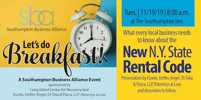 What you need to know about the new NY State Rental Code!