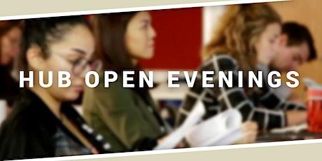 Manchester Hub Open Evening tickets