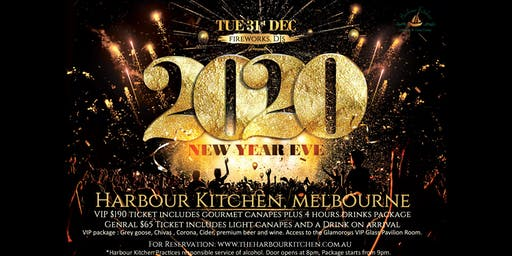 2020 NYE Party @ Harbour Kitchen