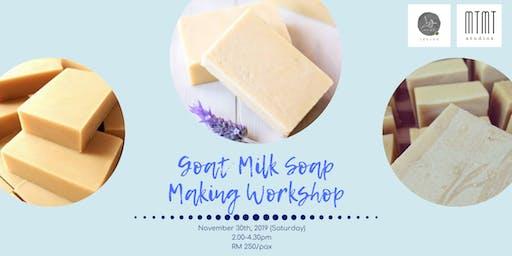 Goat Milk Soap Making Workshop