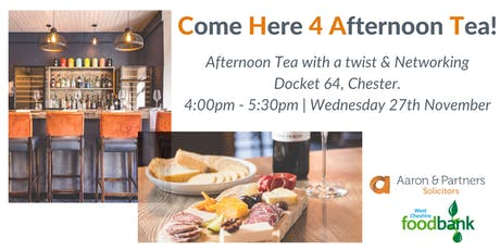CHAT! - Come Here 4 Afternoon Tea November 2019 tickets
