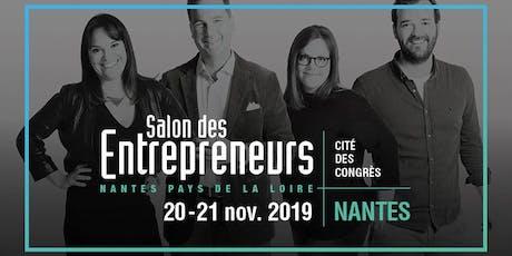 [Nantes] Salon des Entrepreneurs du 20 et 21 novembre billets
