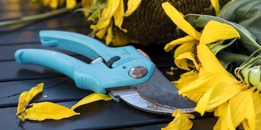 Garden Tools Sharpening and Repair Workshop