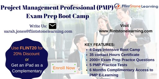 PMP Certification Training Course in Burlington, VT