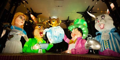 Preview of Alice in Winterland lantern spectacular at Lightwater Valley
