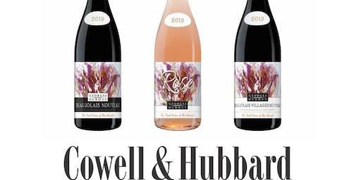 Fundraising Beaujolais Nouveau 21st November at Cowell&Hubbard