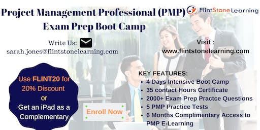 PMP Certification Training Course in Applegate, CA