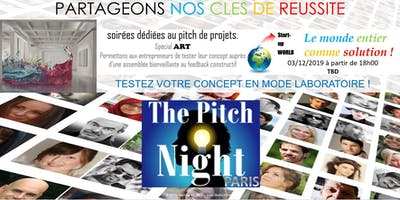 "Pitch night Paris spécial ""ART"""
