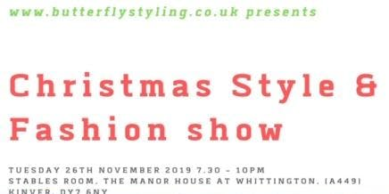 Christmas Styling & Fashion Show