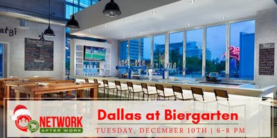 Network After Work Dallas at Biergarten