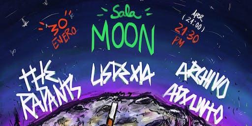 The Rapants + Lisdexia + Archivo Adxunto na Sala Moon