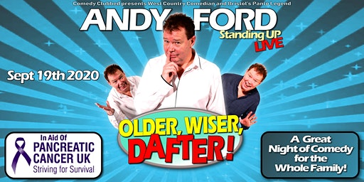 ANDY FORD Longwell Green Community Centre OLDER, WISER, DAFTER